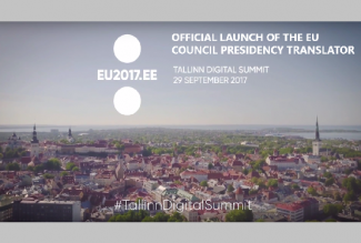 Tilde will unveil a multilingual communication tool developed for the EU Council Presidency next week at the Tallinn Digital Summit, a high-level event for EU heads of state, including German Chancellor Angela Merkel and French President Emmanuel Macron.