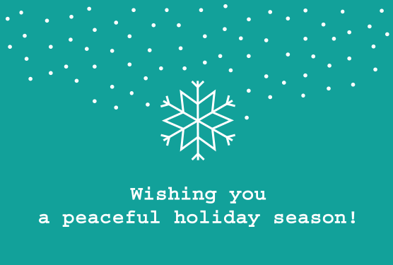 Tilde wishes you a peaceful holiday season!