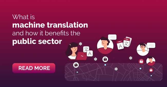 Machine Translation for Public Sector